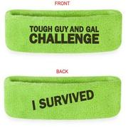 Tough Guy and Gal Sweatband