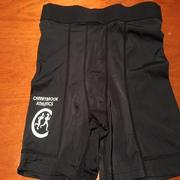 Bike pants black with logo No size 8 10 or 12
