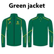 AVAILABLE NOW - NEW Australian Jackaroos Supporter Wear - Green Jacket