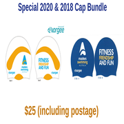 2020 NEW MSA Swimming Caps with 2018 Cap (Special)