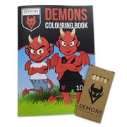 Demons Colouring Pack