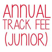 Track Usage Fee - Juniors (18yrs and Under)
