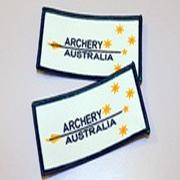 Arrow Logo Cloth Badge