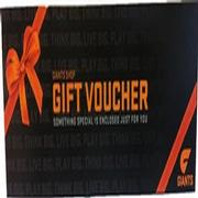 GWS GIANTS $20.00 Gift Voucher