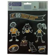 GWS GIANTS My Family Stickers